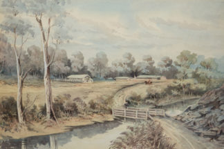Esam, Arthur (1850-1938) original watercolour, unsigned -0