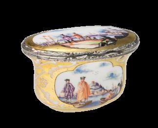 Meissen snuff box, c.1730 -0