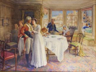 Shaw-Crompton, J : The farewell, circa 1890 -0