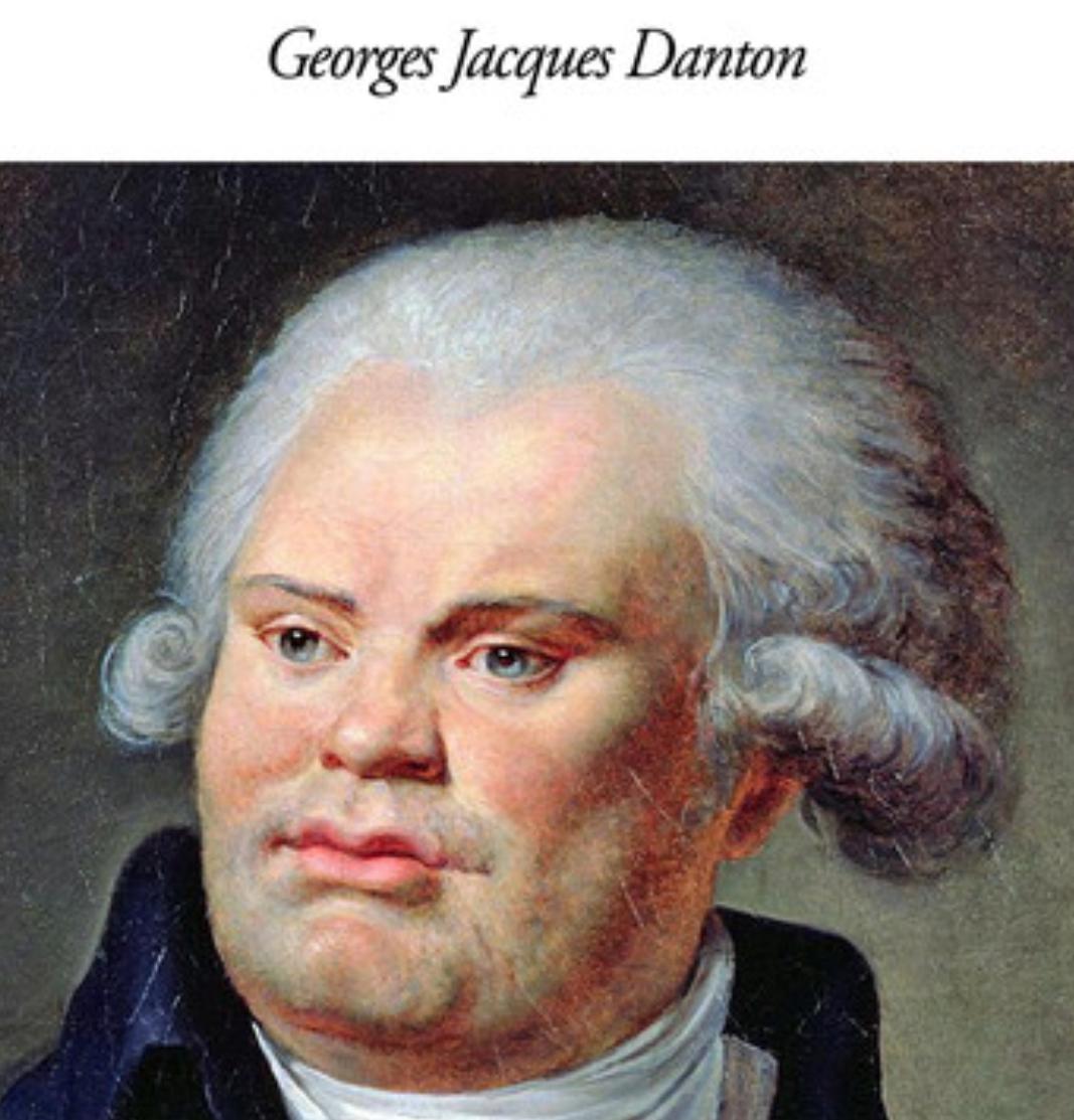 Georges Danton head of georges danton, french revolutionary faience jug, c. 1795
