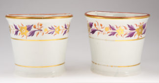 Pair of Davenport bough pots, circa 1805. -0