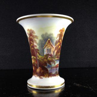 Minton spill vase with continuous landscape, c.1835 -0