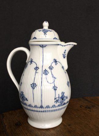 Gotha coffee pot, immortelle pattern, c.1780 -0