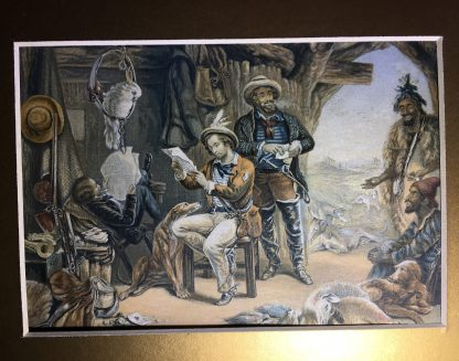 Baxter prints - News from Australia & from Home, 1854 -0