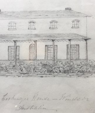 Cadell, Robert - Sketch of Cockenzie House, Windsor, c. 1845 -0
