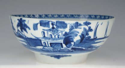 Vauxhall bowl, unrecorded pattern, c.1760 -0