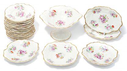Victorian Child's dessert set, c. 1845 -0