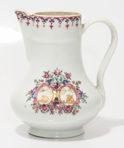 Chinese export 'marriage' jug, C. 1740 -390