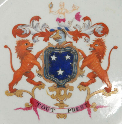 Armorial plate, arms of Murray, probably Spode c. 1800 -602