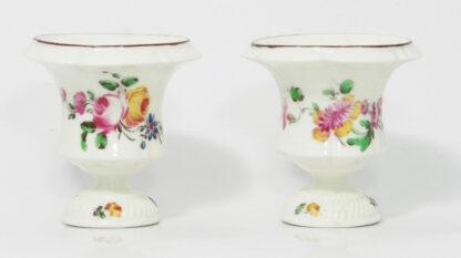 Pair of Mennecy Medici vases Circa 1750 -381