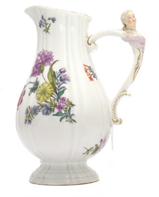 Meissen ewer with ladies bust handle, C. 1745 -0