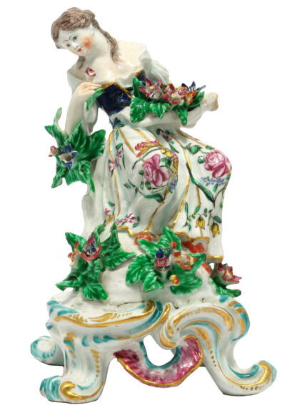 Bow figure of Smell, from The Senses, c. 1765 -0
