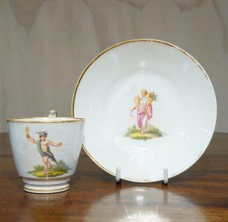 Swansea Porcelain cup saucer