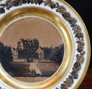 Glames Castle on Paris Porcelain