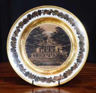 Chiswick House on Paris Porcelain