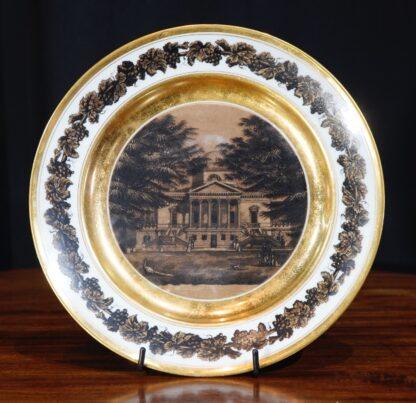 Chiswick House on Paris Porcelain