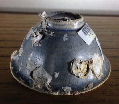 Hoi An Shipwreck: Vietnamese deep blue glaze wine cup, C. 1480 -6702