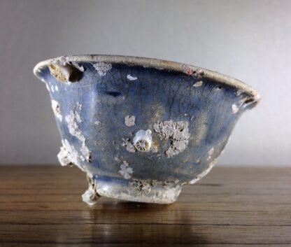 Hoi An Shipwreck: Vietnamese deep blue glaze wine cup, C. 1480 -6703
