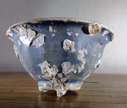 Hoi An Shipwreck: Vietnamese deep blue glaze wine cup, C. 1480 -0