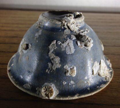 Hoi An Shipwreck: Vietnamese deep blue glaze wine cup, C. 1480 -6705