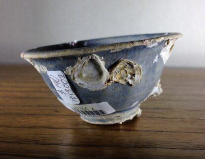 Hoi An Shipwreck: Vietnamese deep blue glaze wine cup, C. 1480 -6707