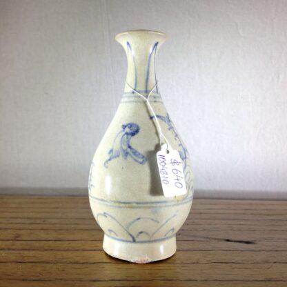 Hoi An Shipwreck vase, birds, 15th century-6760