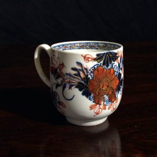 Liverpoool coffee cup, Bird on a Branch pattern, Christians c.1770 -0