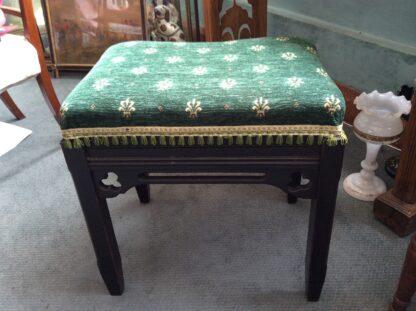 Victorian Gothic piano stool, c.1875 -0