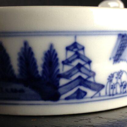 Meissen butter tub with chinoiserie underglaze blue, C. 1740-2623