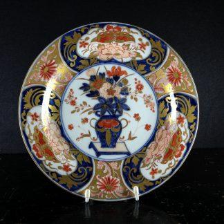 Meissen Imari plate, vase pattern, C. 1740 -0
