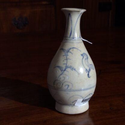 Hoi An Shipwreck vase, birds, 15th century-710