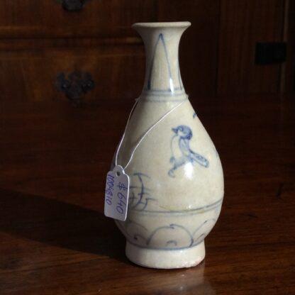 Hoi An Shipwreck vase, birds, 15th century-711
