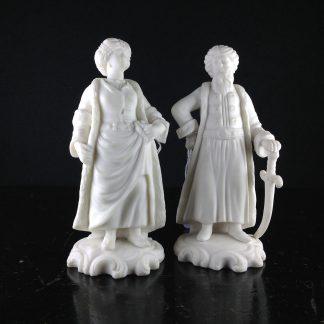 Pair Minton figures of Turks, 1857 -0