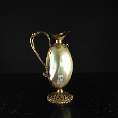 Mother of pearl ewer, circa 1870-0