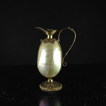 Mother of pearl ewer, circa 1870-2844