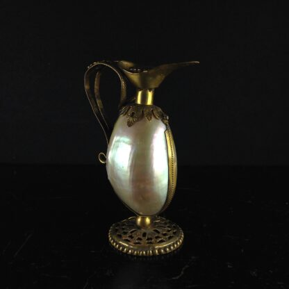 Mother of pearl ewer, c.1870-0