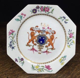 Armorial plate, arms of Murray, probably Spode c. 1800 -0