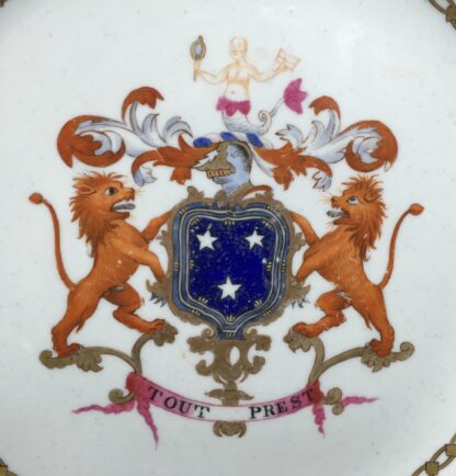 Armorial plate, arms of Murray, probably Spode c. 1800 -13201