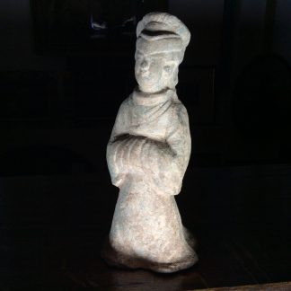 Han dynasty standing figure, 2nd century BC-0