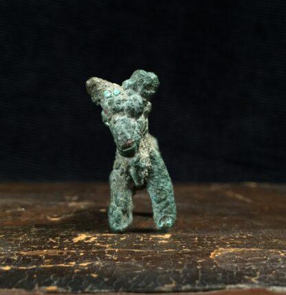 Ancient Persian bronze bull, Luristan, 8th century BC -16175