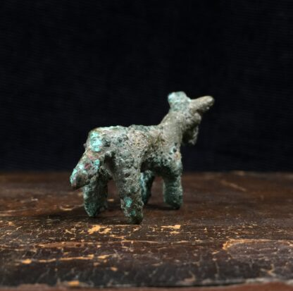 Ancient Persian bronze bull, Luristan, 8th century BC -16177