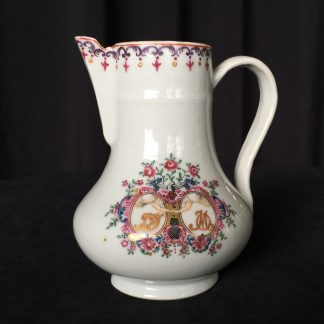 Chinese export 'marriage' jug, C. 1740 -0