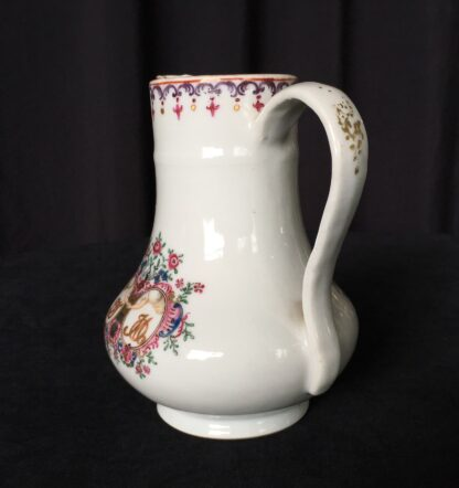 Chinese export 'marriage' jug, C. 1740 -18003
