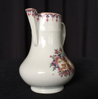 Chinese export 'marriage' jug, C. 1740 -18004