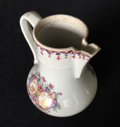 Chinese export 'marriage' jug, C. 1740 -18006