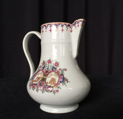 Chinese export 'marriage' jug, C. 1740 -18007
