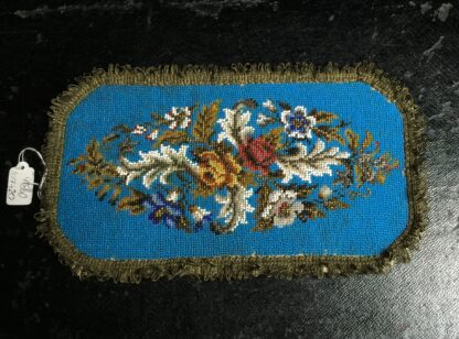 Victorian beadwork sample, c.1860 -0