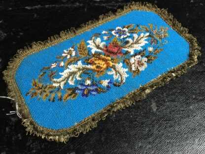 Victorian beadwork sample, c.1860 -10705