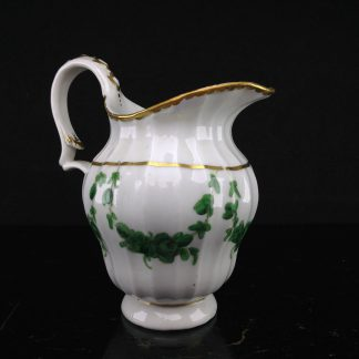 Champion's Bristol jug decorated with green swags, C. 1775 -0