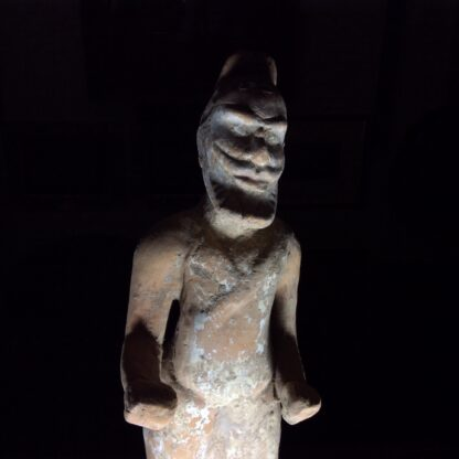 Tang figure of a foriegner, 8th century -901